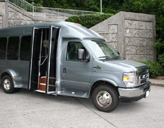 15f0fbd959 The Van Terra shuttle bus showcases both strength and versatility. All  types of passengers